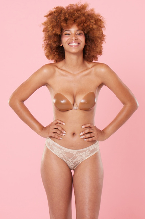 No VPL <br> Nude Lace Brief 3 Pack