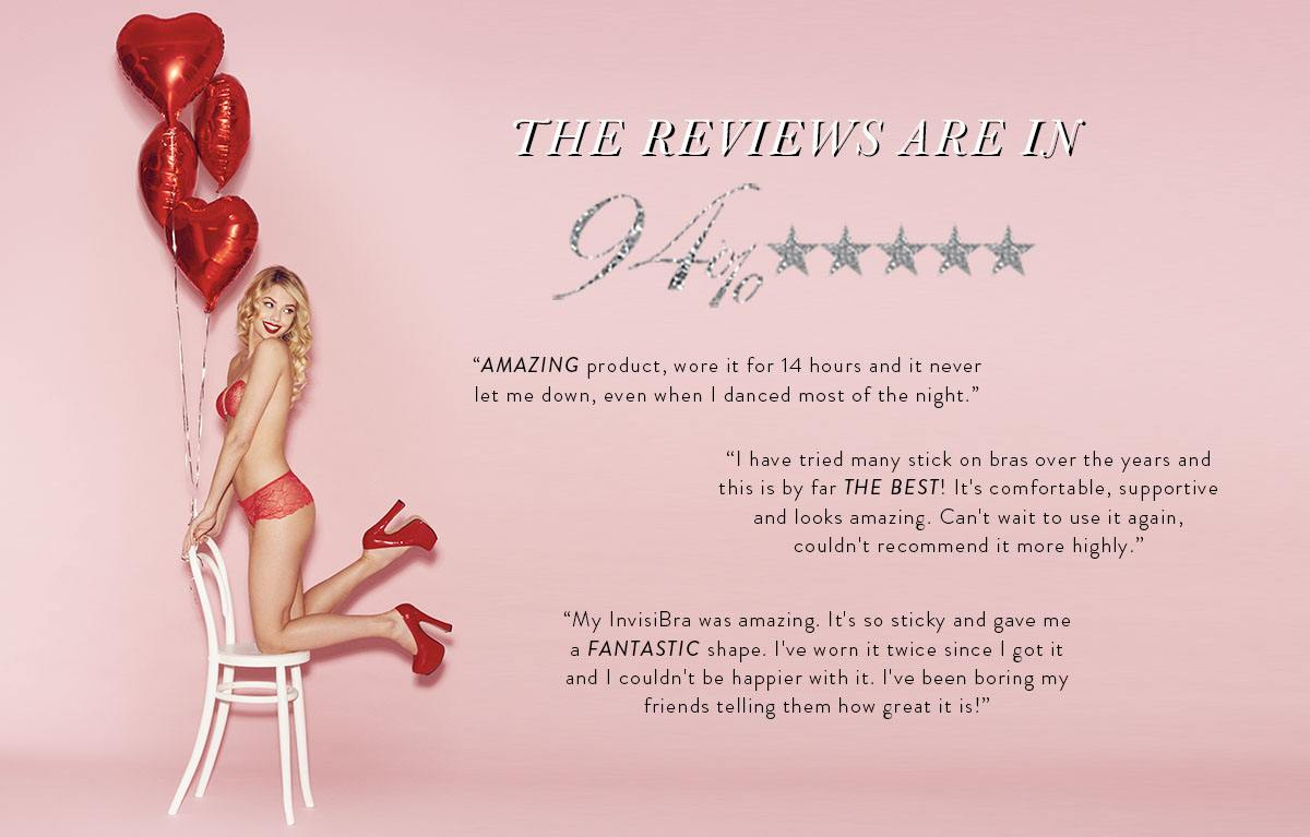 Invisibras customers review our best backless bra