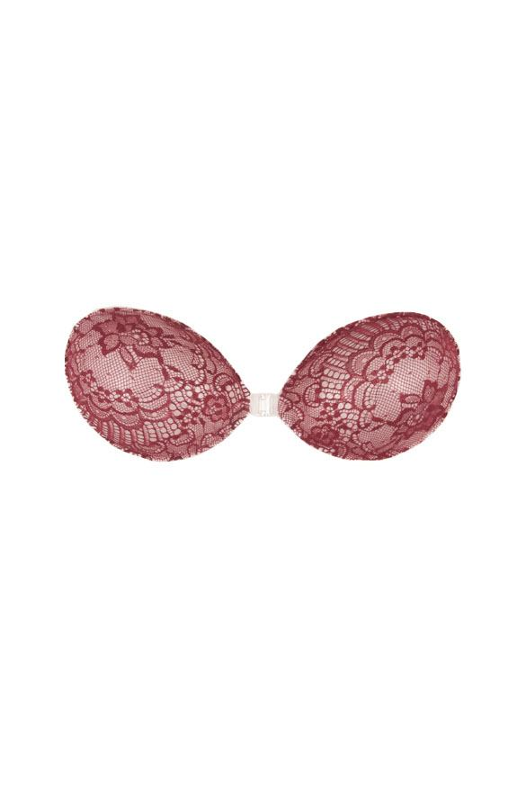 Backless Push Up Bra <br> Wine o'clock