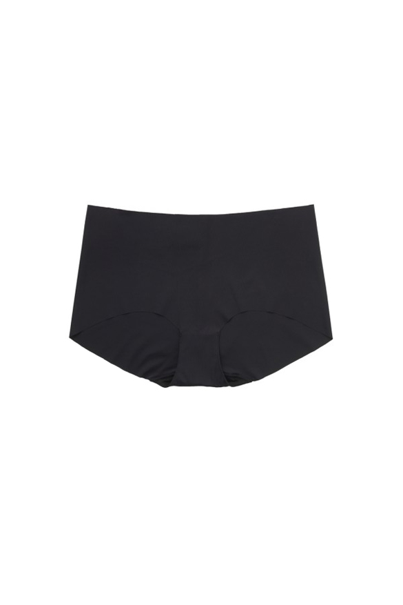 SEAMLESS NO PANTY LINE VISIBLE HIPSTER BLACK