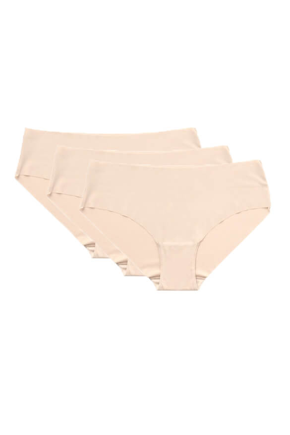 No VPL <br>Nude Brief 3 Pack