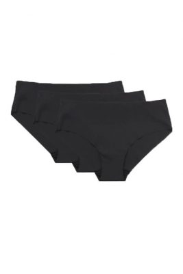 No VPL <br>Black Brief 3 Pack