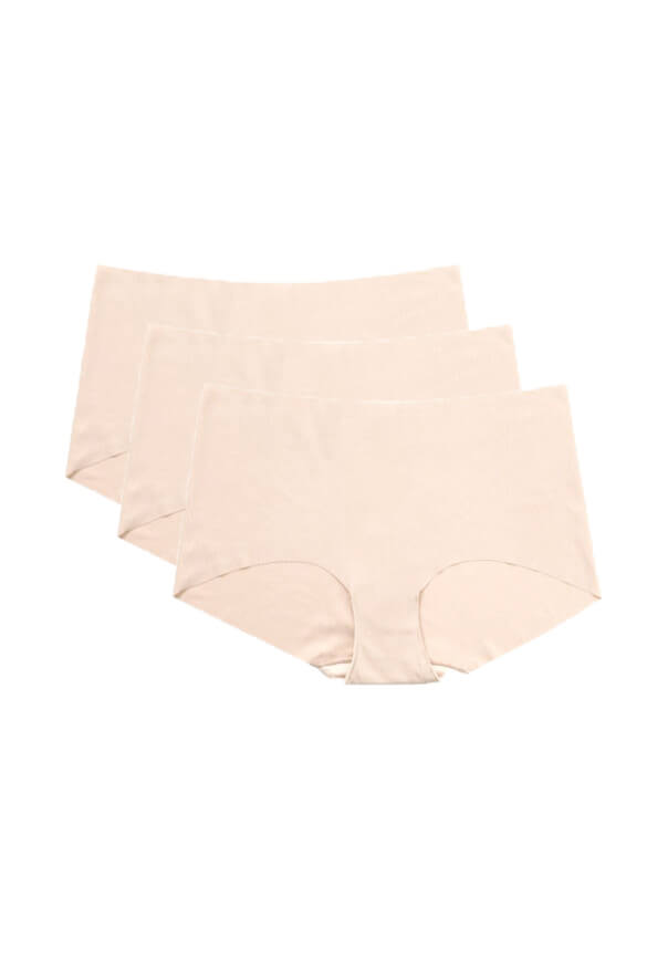 No VPL <br>Nude Hipster 3 pack