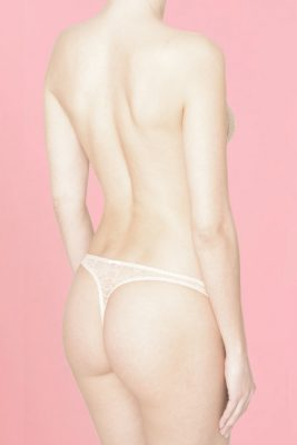 Lace Thong Women Knickers <br> Birthday Suit