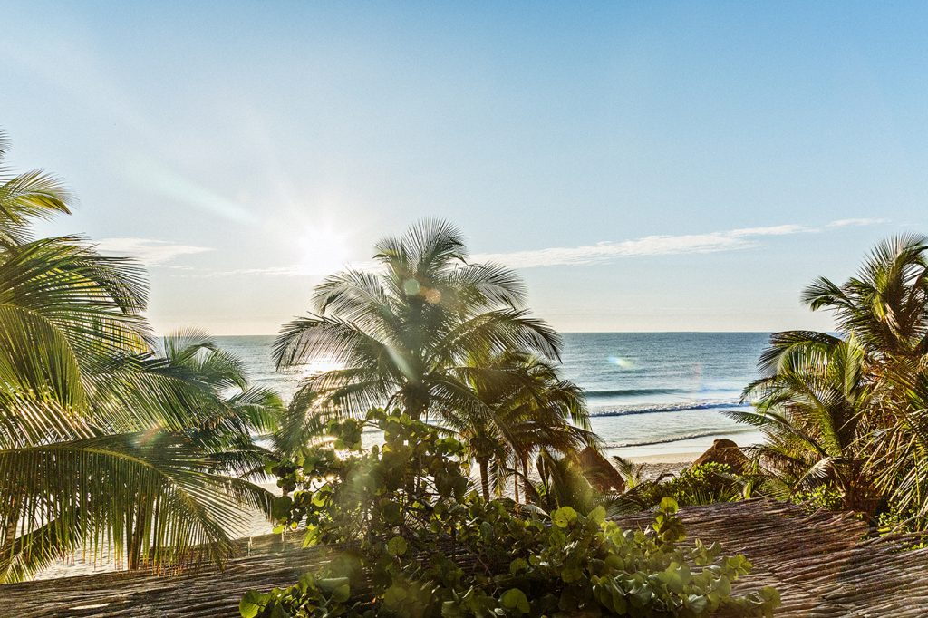 Winter beach holiday LA VALISE TULUM