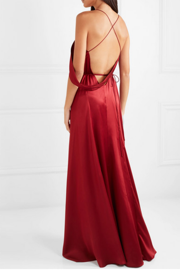 Backless Dresses for the Party Season