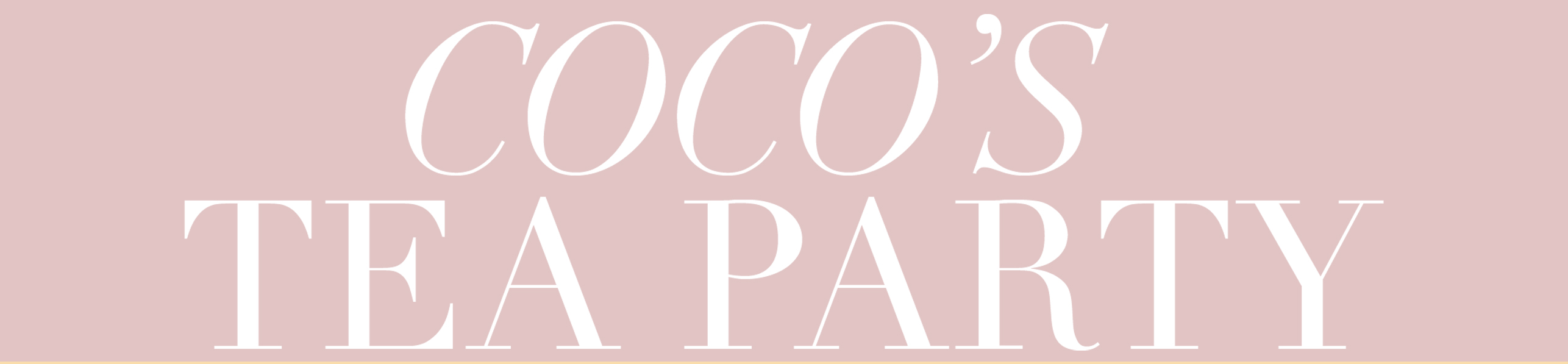 cocos tea party invisibra product review