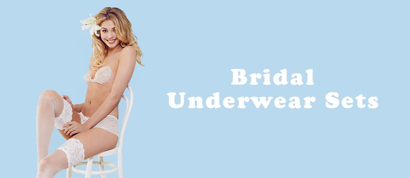 bridal underwear sets by invisibra