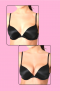 BREAST ENHANCERS <br> PUSH UP BRA INSERTS  <br> SPECIAL OFFER DUO PACK